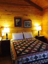Log Cabin Resort in Leakey, TX
